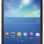 """Samsung Galaxy Tab 3 Tablette Tactile 8"""" 16 Go Android Wi-Fi Noir"""