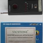 CC308 + L'écoute de la caméra cachée sans fil détecteur de signal Full Range caméra et détecteur de Bug - RF caméra cachée